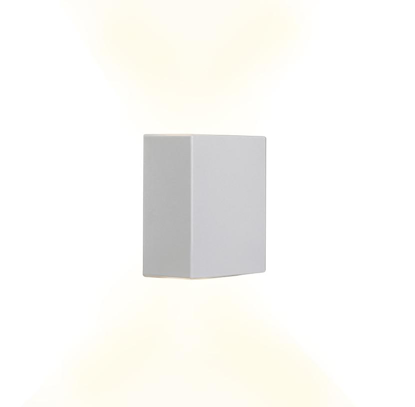 Luxarandela 90 x 60 / 2 x 4W Sobrepor