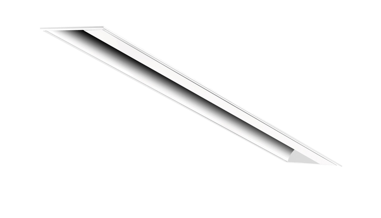 Luxsquare 620x102 / 19W - Embutir assimétrico