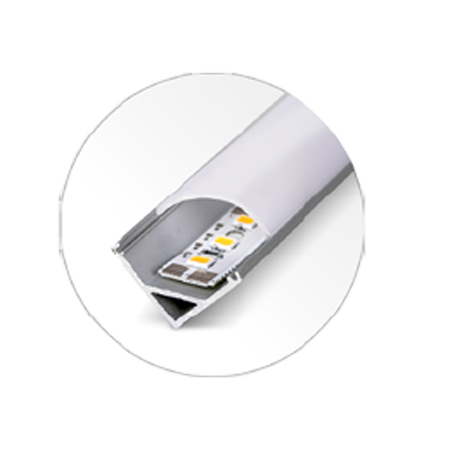 Luxline 1000 X 16 / 6W/m Sobrepor - 45º